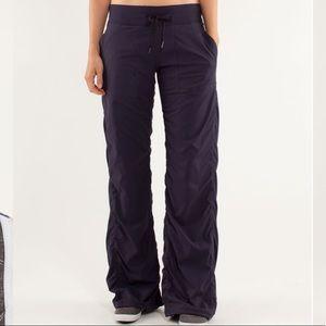 Lululemon Studio Pant II *Liner Black Swan Size 6